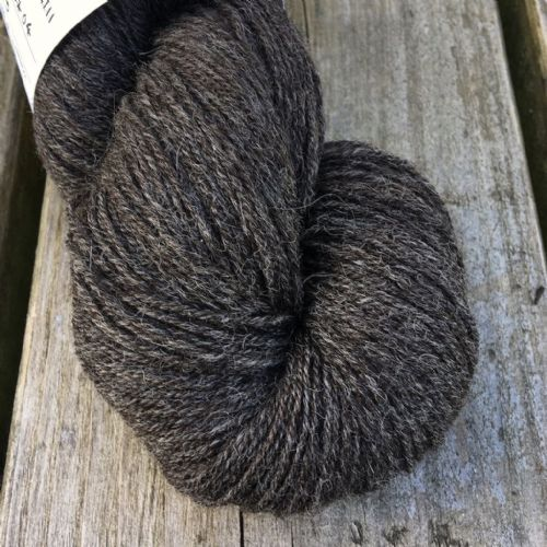 Aurinkokehrä - Undyed Darkest Brown-Grey